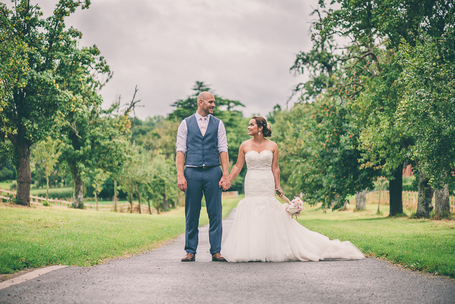 Hellens Manor Wedding