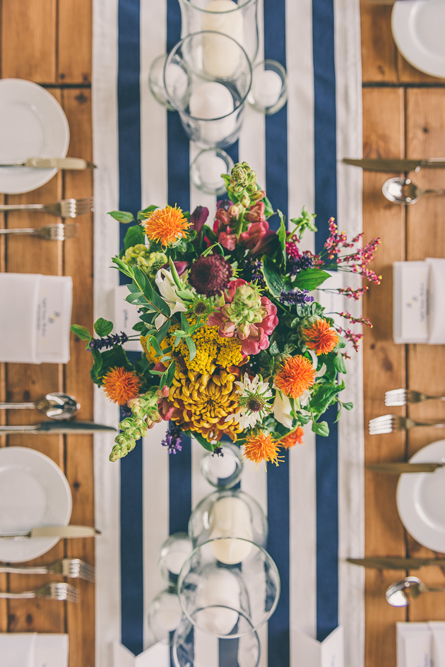 Elmore Court Wedding Table Decoration