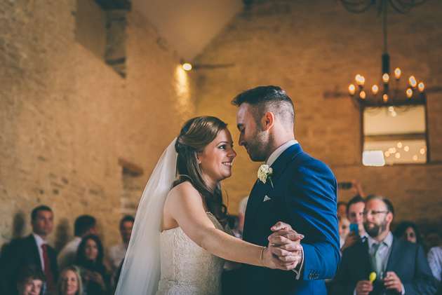 Kingscote Barn First Dance Photos