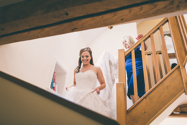 Kingscote Barn Wedding Images