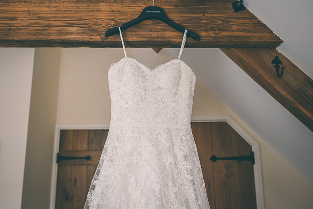 Kingscote Barn Wedding Dress