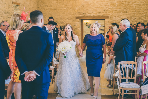Cotswold Barn Wedding Ceremony