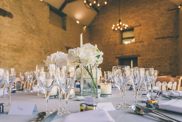 Kingscote Barn Table Decoration