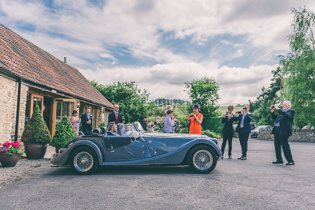 Kingscote Barn Wedding Cars