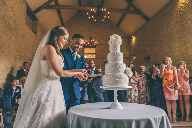 Kingscote Barn Wedding Cake