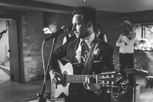 Kingscote Barn Wedding Music Guitar