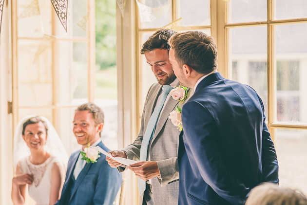 Middle Stanley Farm Wedding Ceremony