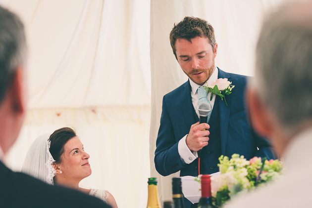 Middle Stanley Farm Wedding Speeches