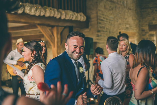 Kingscote Barn Wedding Photos-111