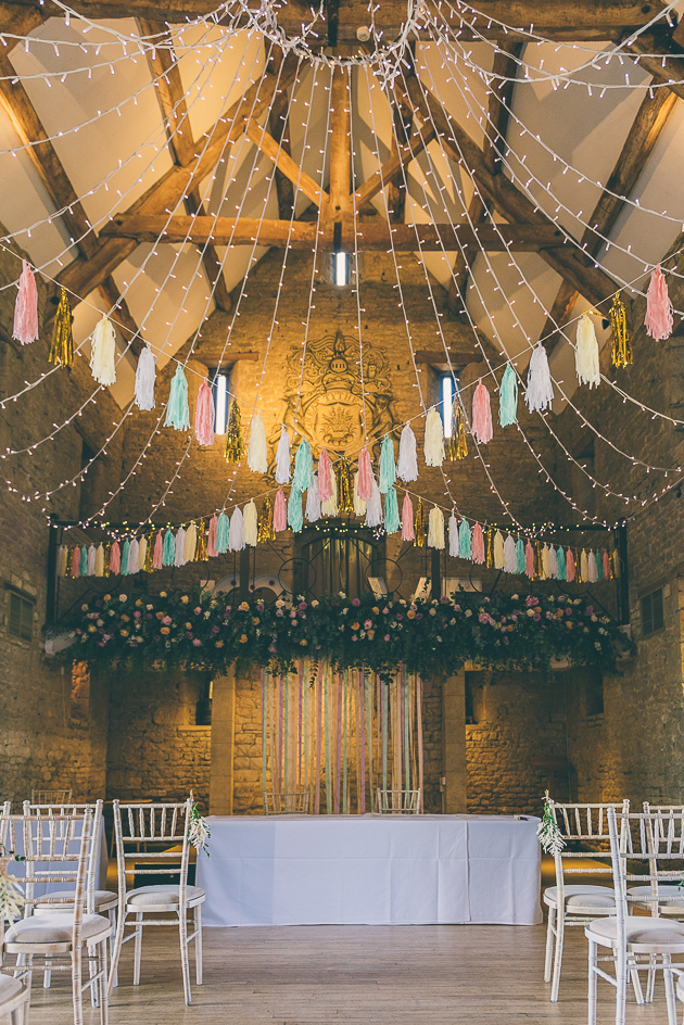 Great Tythe Barn Summer Wedding