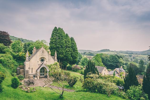 Old Chapel Slad Gloucestershire