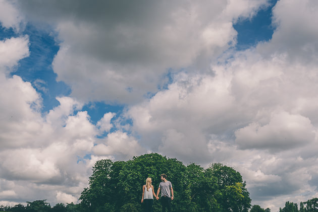 Bride and Groom at Blenheim Palace