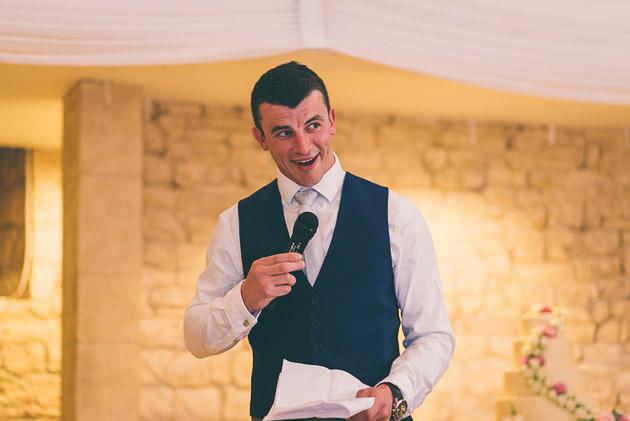 Grooms speech at Great Tythe Barn