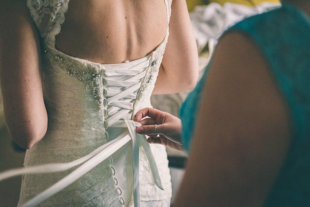 Bridal prep photos