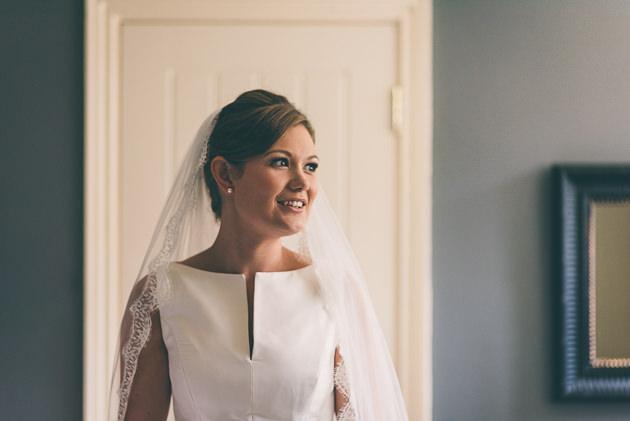 Bride in natural light