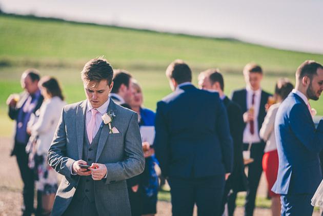 Wedding Guests at Wellington Barn