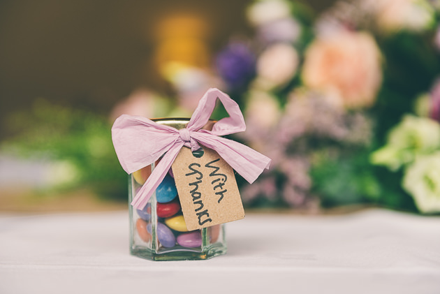 Table Favours at Hyde Barn