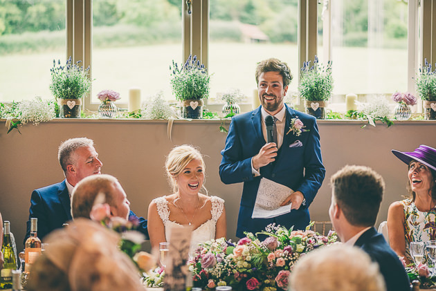Grooms Speech at Hyde House