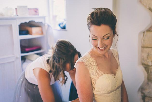 Stone Barn Bridal Makeup