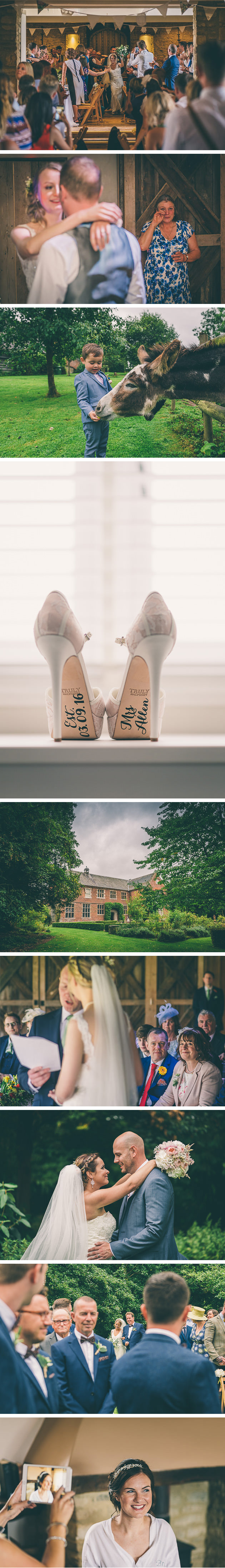 Wedding Shoes on Window