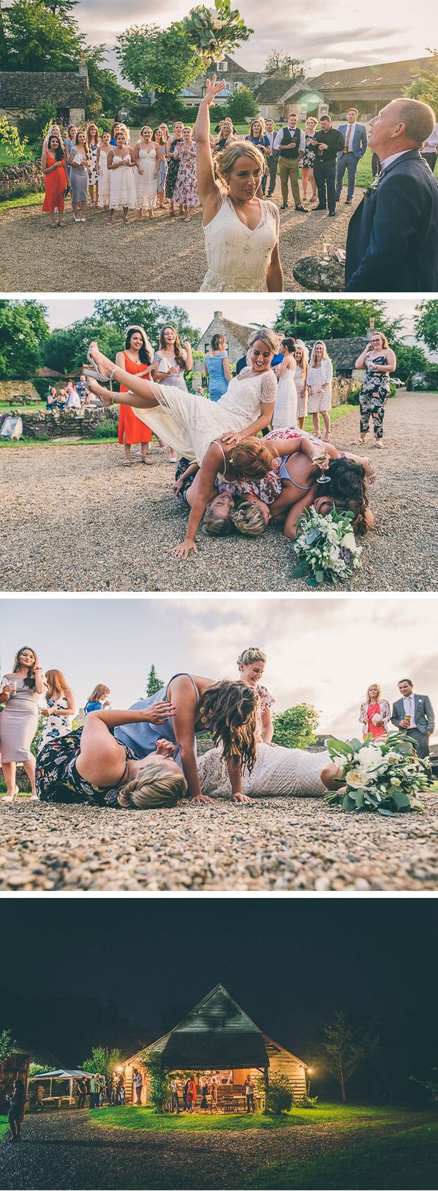 Funny Bouquet Toss