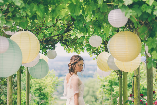 Pastel Wedding Lanterns