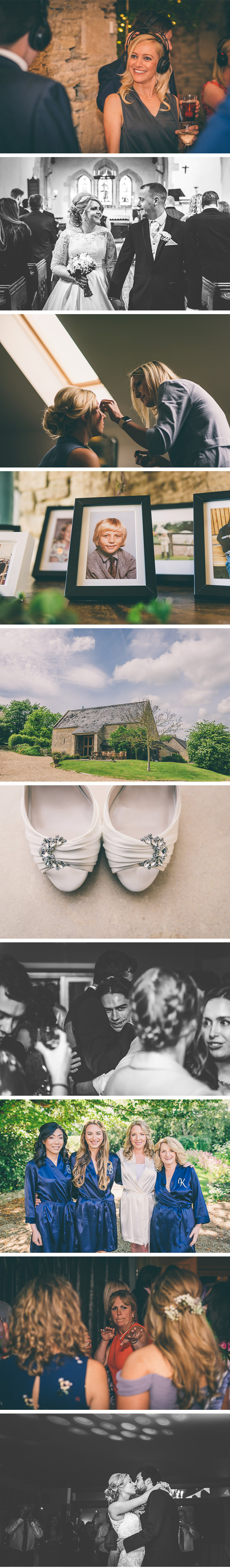 Close up photo of wedding shoes