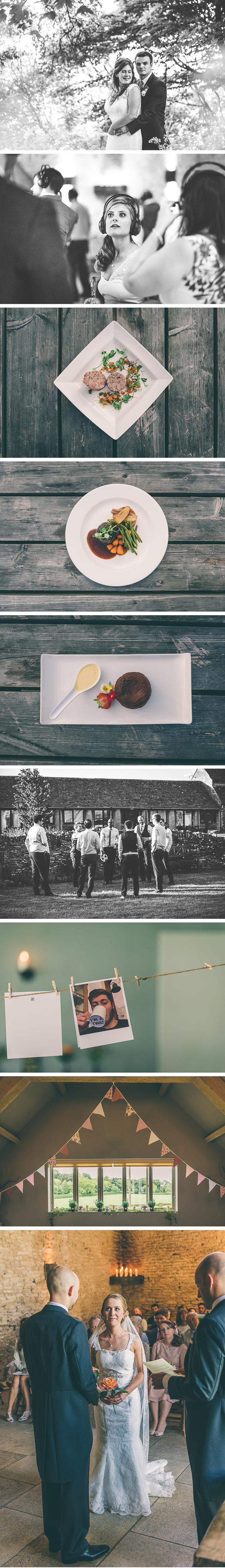 Wedding Meal at Great Tythe Barn