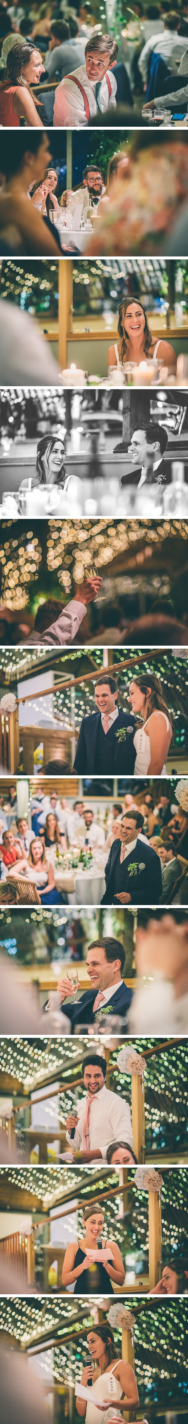 Speeches for a summer wedding at Stone Barn
