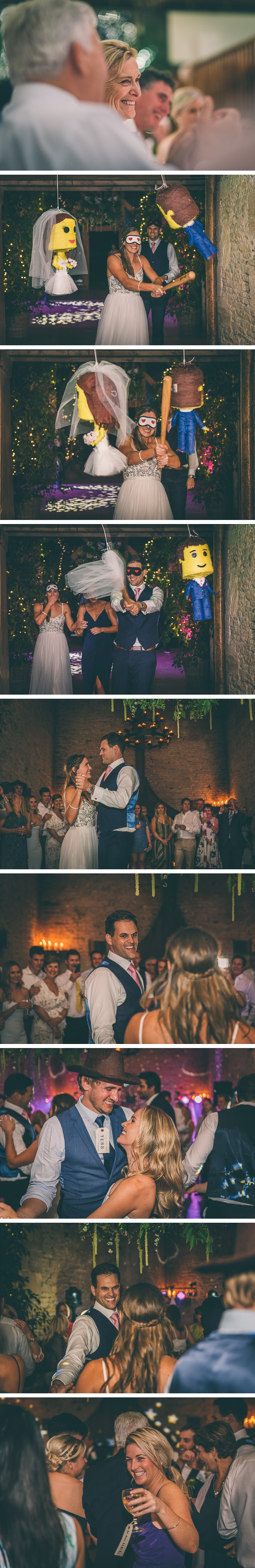 First dance at Stone Barn with the bride and groom