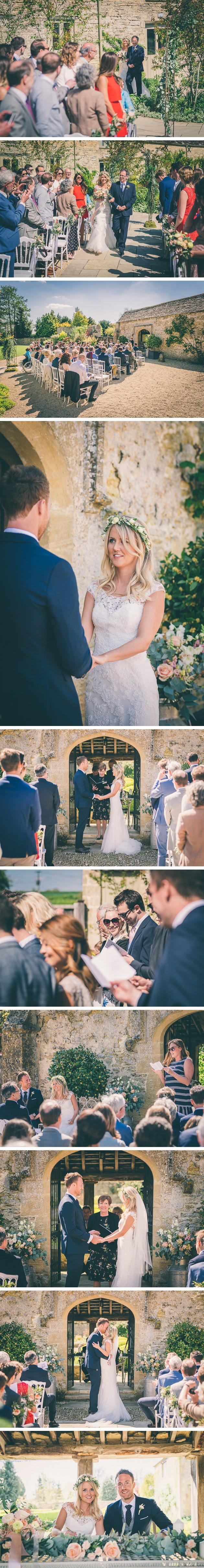 Caswell House Outdoor Ceremony
