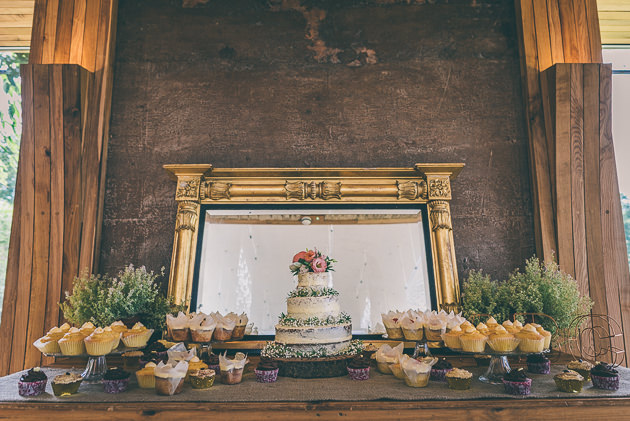 Wedding Cake at Elmore Court