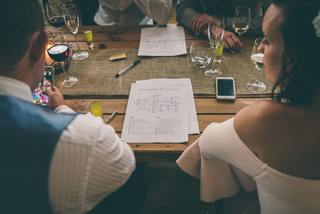 Wedding Crossword Puzzle