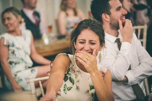 Wedding Speeches at Elmore Court