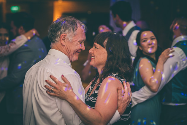 Dancing photos at a wedding