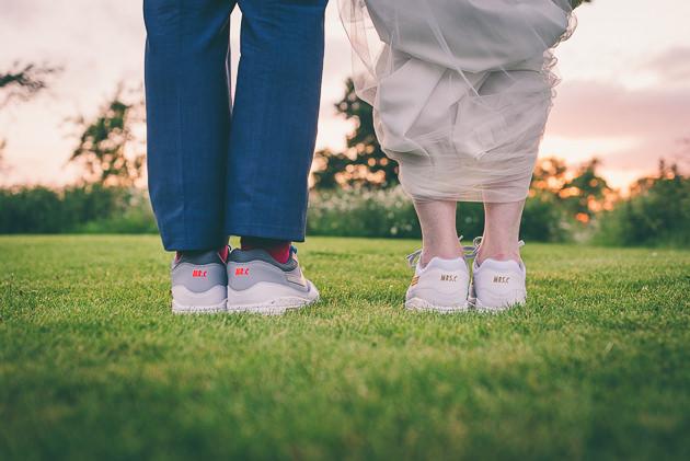 Personalised Nike Wedding Shoes
