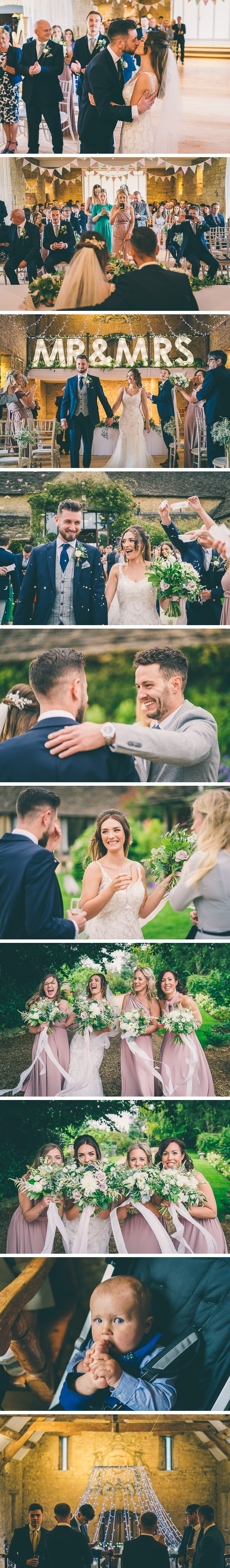 Drinks reception at Great Tythe Barn