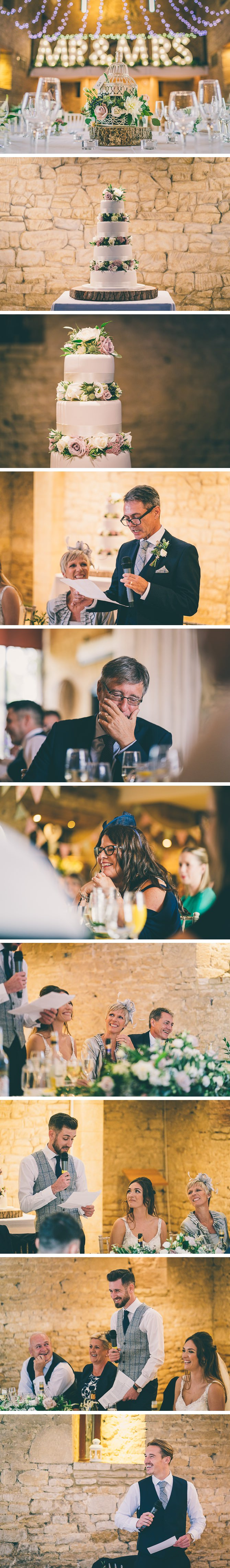 Speeches at Great Tythe Barn