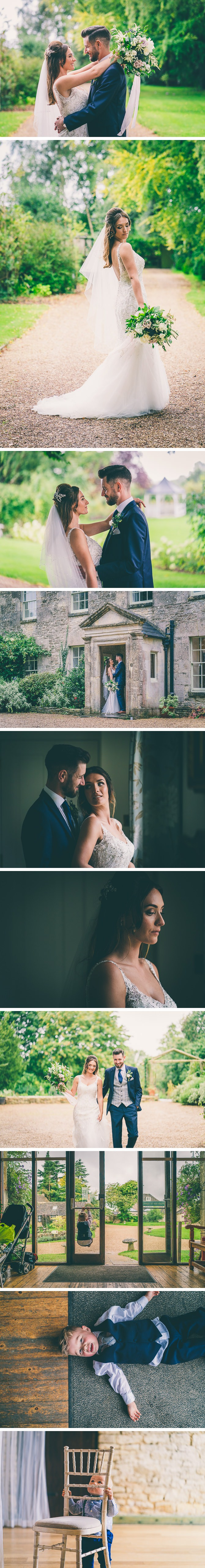 Bride and Groom Portrait Photos at Great Tythe Barn