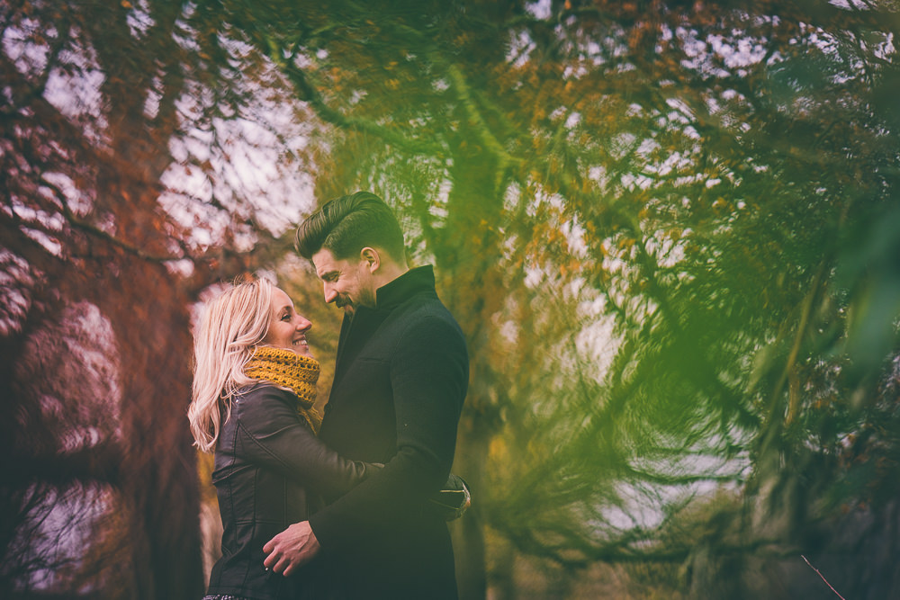 Pittville Park Autumn Pre-Wedding Shoot