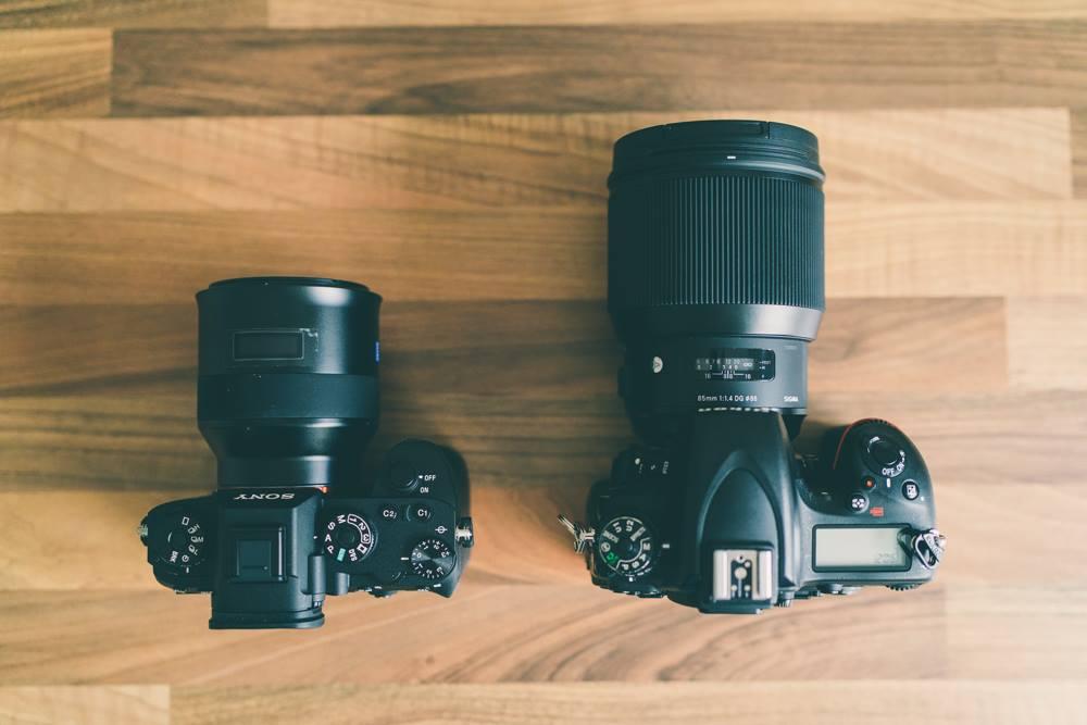 Sony A9 v Nikon D750