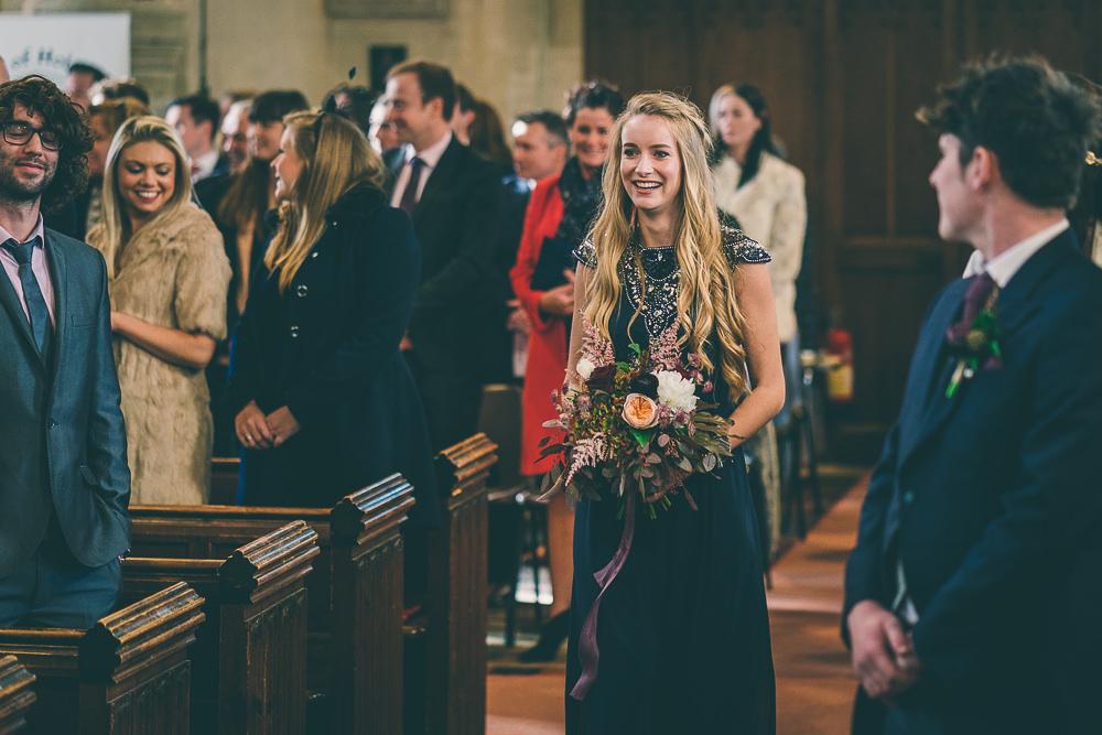 The Great Tythe Barn Winter Wedding