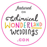 Featured on Whimsical Wedding Wonderland