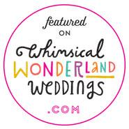 Featured on Whimsical Wedding Wonderland