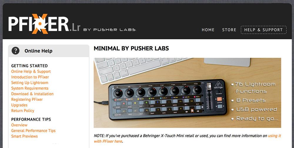 Pfixer X-Touch Mini