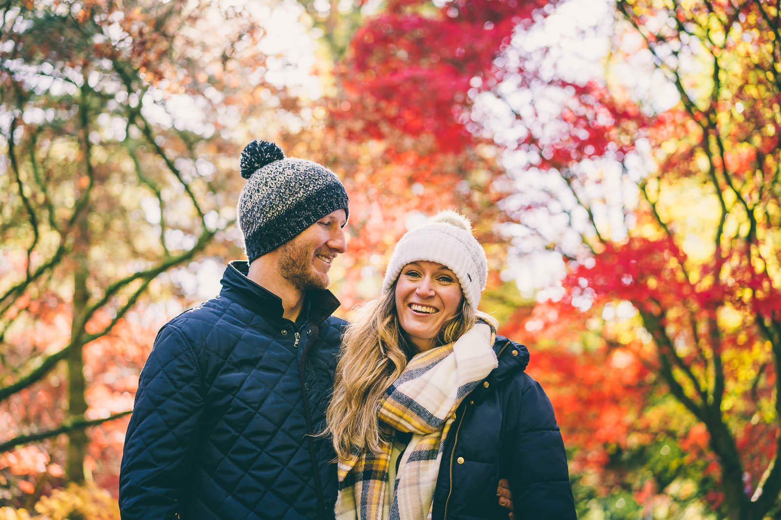 Autumn at Westonbirt Arboretum – Tash & Rob's Pre-Shoot