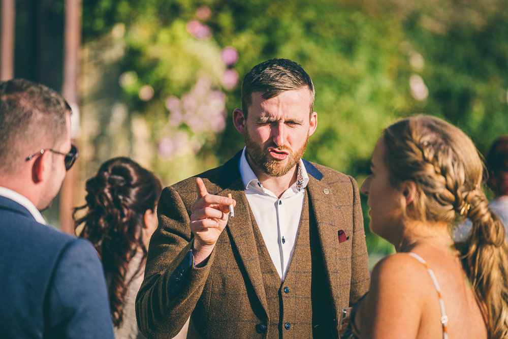Great Tythe Barn Outdoor Wedding