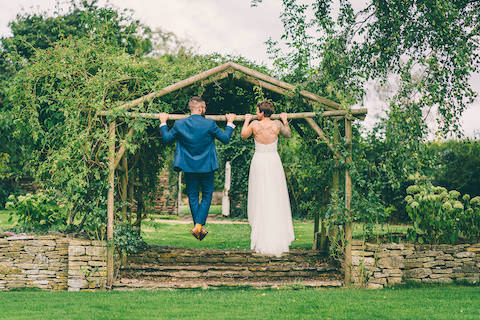 Great Tythe Barn Outdoor Wedding small