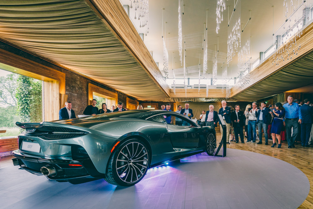 Elmore Court McLaren GT Launch
