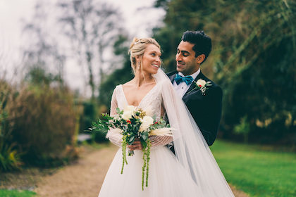 Winter Wedding at The Great Tythe Barn Small